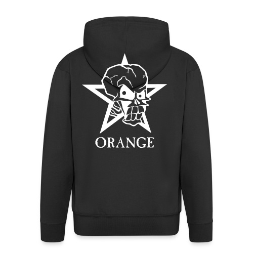 Orange Club T-Shirt - Männer Premium Kapuzenjacke