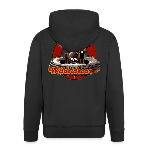 logo wildsidecar 60s gif - Veste à capuche Premium Homme