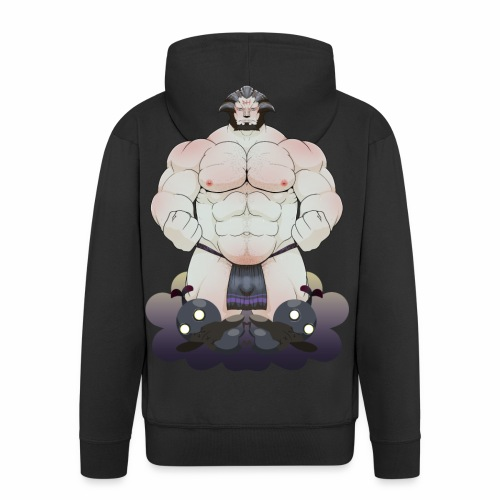 Dark Knight of Bastok - Men's Premium Hooded Jacket