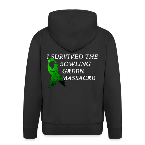 I Survived The Bowling Green Massacre - Männer Premium Kapuzenjacke