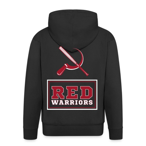 Red Warriors Logo2 - Veste à capuche Premium Homme