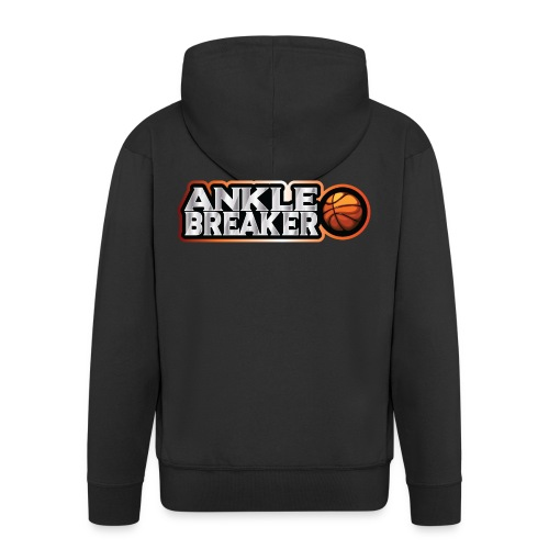 Ankle Breaker for real streetball players - Men's Premium Hooded Jacket