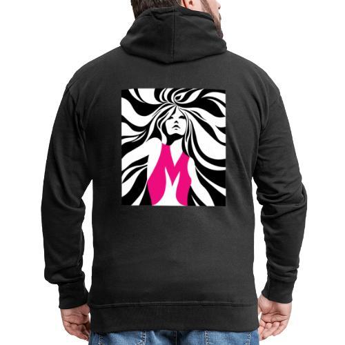 Mélographie - Veste à capuche Premium Homme