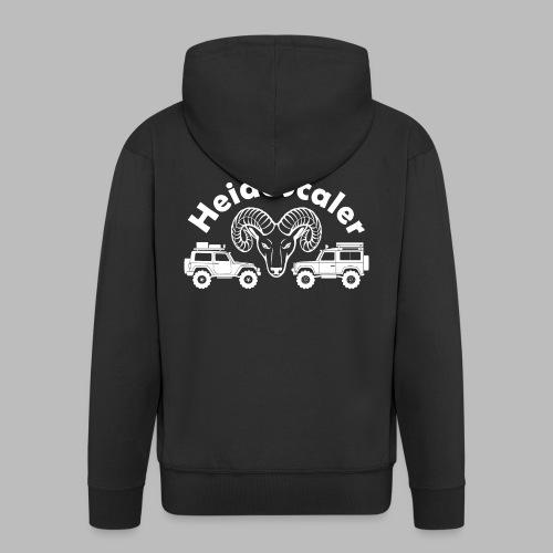 Heide Scaler white HQ - Männer Premium Kapuzenjacke