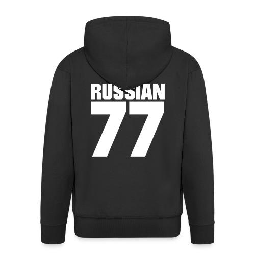77 Russia - Männer Premium Kapuzenjacke