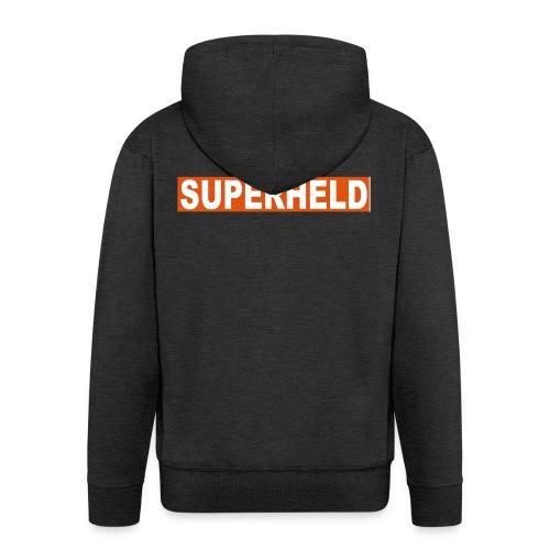 superheldin - Männer Premium Kapuzenjacke