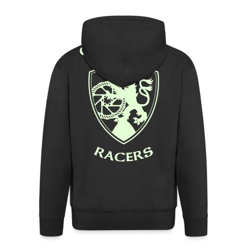 Crownhill Flexdruck Flat - Männer Premium Kapuzenjacke