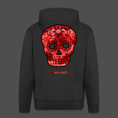 Skull Roses - Men's Premium Hooded Jacket