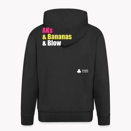 AKs & Bananas & Blow - Männer Premium Kapuzenjacke