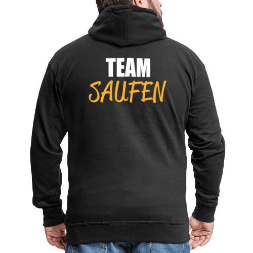 Team saufen Shirt - Männer Premium Kapuzenjacke
