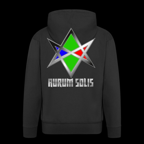 Aurum Solis – Logo - Männer Premium Kapuzenjacke