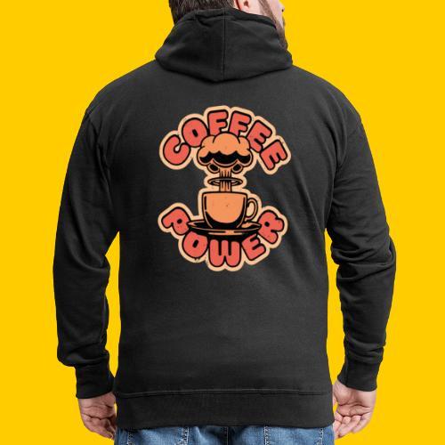 Coffee power - Premium-Luvjacka herr