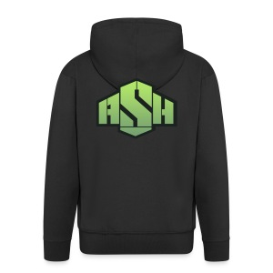 SxAshHowl,s Youtube merch - Men's Premium Hooded Jacket