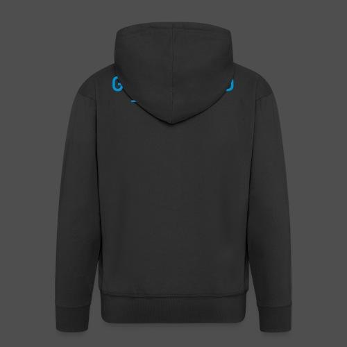 go offroad - Rozpinana bluza męska z kapturem Premium