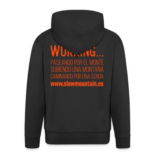 Working - Chaqueta con capucha premium hombre