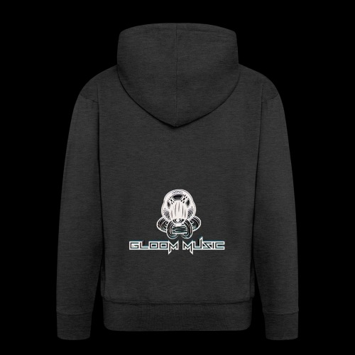 GLOOM MUSIC LOGO 3D - Men's Premium Hooded Jacket