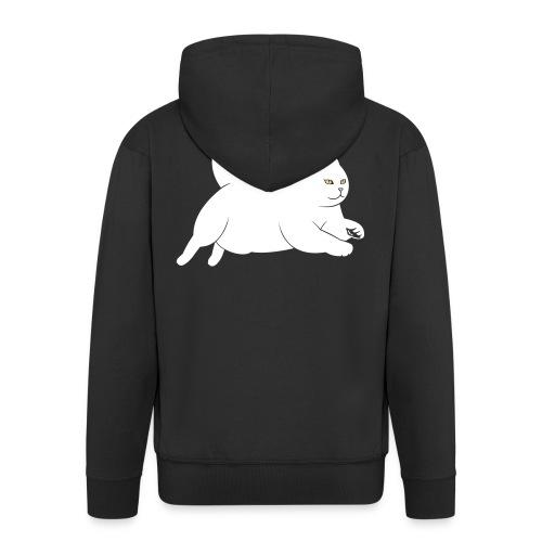 running cat - Männer Premium Kapuzenjacke