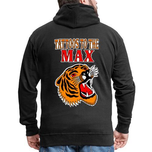 Tattoos to the Max - Tiger - Männer Premium Kapuzenjacke
