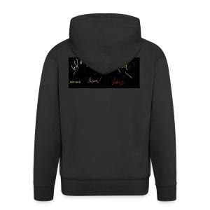 Universe sense - Männer Premium Kapuzenjacke