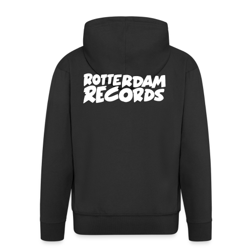 Rotterdam Records - Men's Premium Hooded Jacket