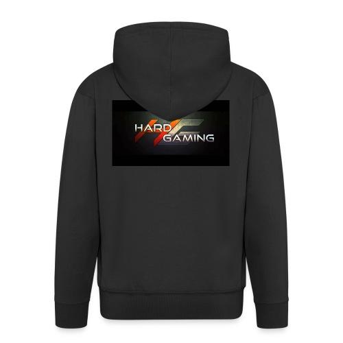 HG Logo - Männer Premium Kapuzenjacke