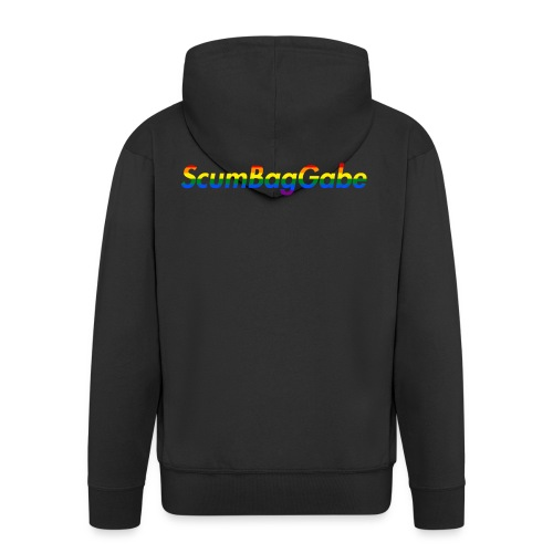 ScumBagGabe Multi Logo XL - Men's Premium Hooded Jacket