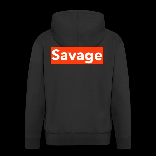 savage - Men's Premium Hooded Jacket