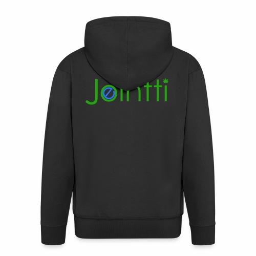 eJointti.com Logo - Miesten premium vetoketjullinen huppari