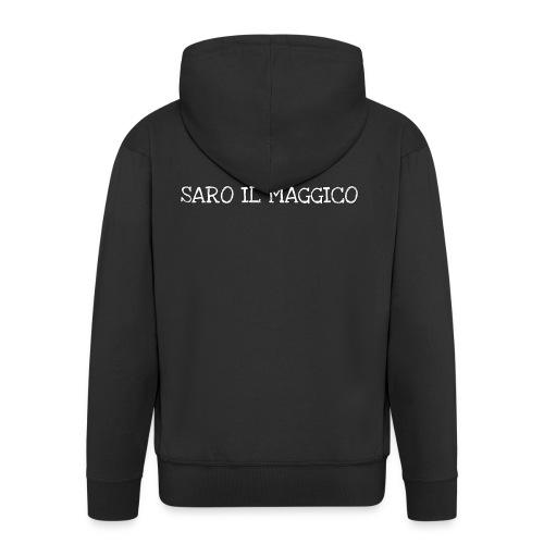 SARO IL MAGGICO - Felpa con zip Premium da uomo