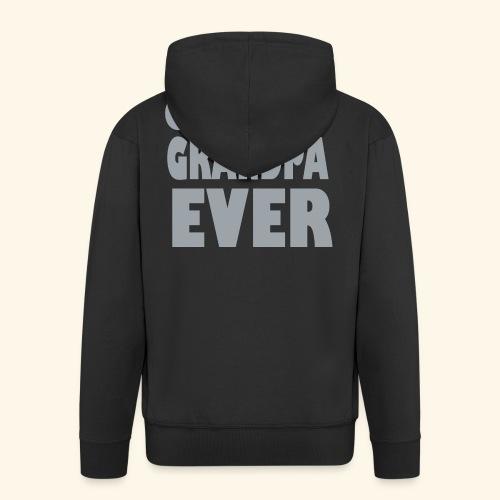 Nonno - Felpa con zip Premium da uomo