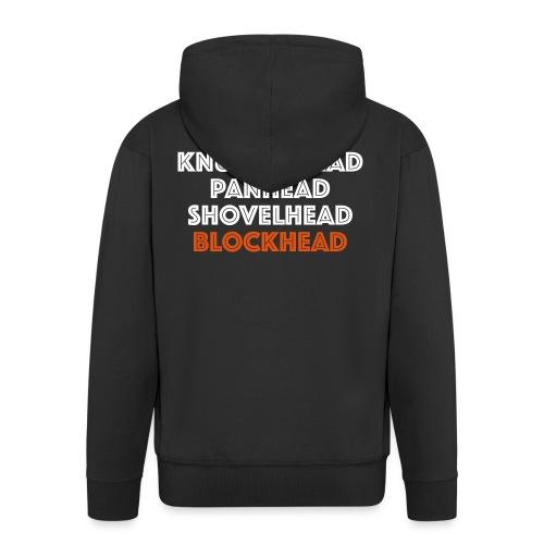 Blockhead 2C - Mannenjack Premium met capuchon