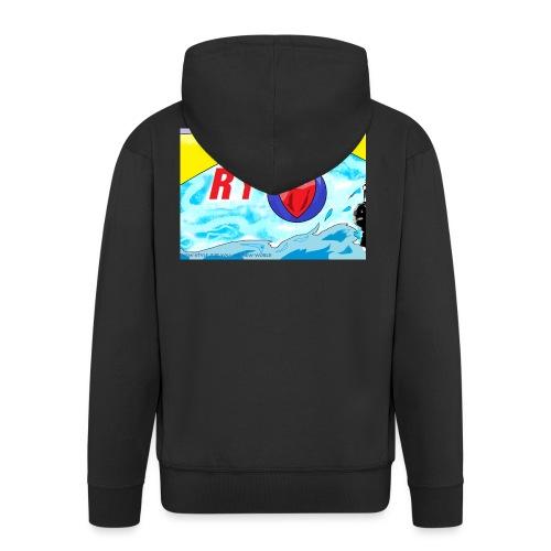 Ry diseños - Chaqueta con capucha premium hombre