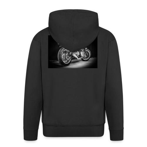 Monia's Thruxton 'Performance Scrambler' - Men's Premium Hooded Jacket