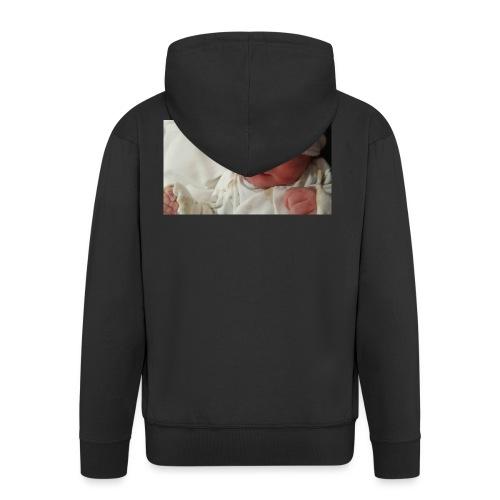 baby brother - Men's Premium Hooded Jacket