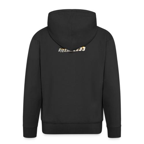 Alexhill2233 Logo - Men's Premium Hooded Jacket