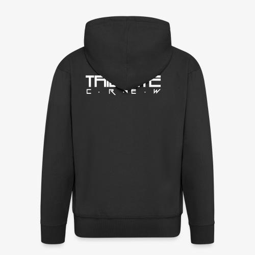 Tailgate hvit - Premium Hettejakke for menn