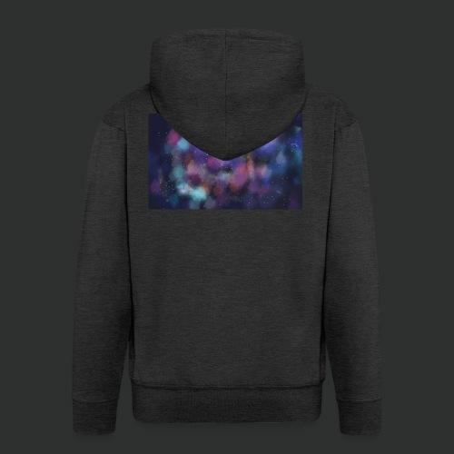 Supernova - Felpa con zip Premium da uomo