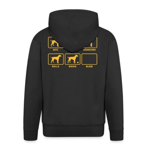 Für alle Hundebesitzer mit Humor - Männer Premium Kapuzenjacke