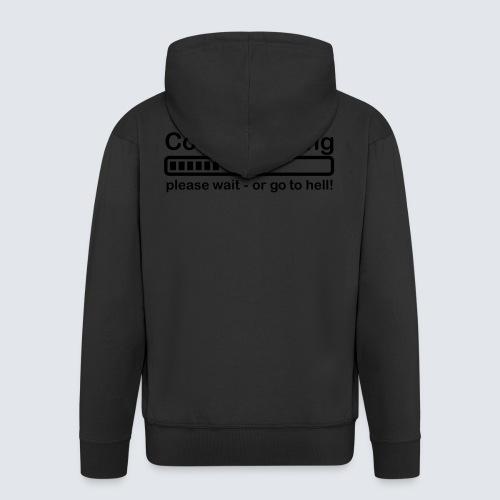 Coffee loading - Männer Premium Kapuzenjacke