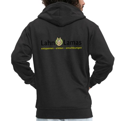 Lahn Lamas - Männer Premium Kapuzenjacke