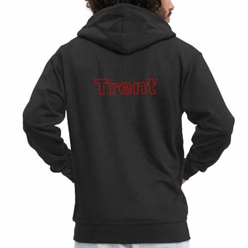 TRENT classic red - Men's Premium Hooded Jacket