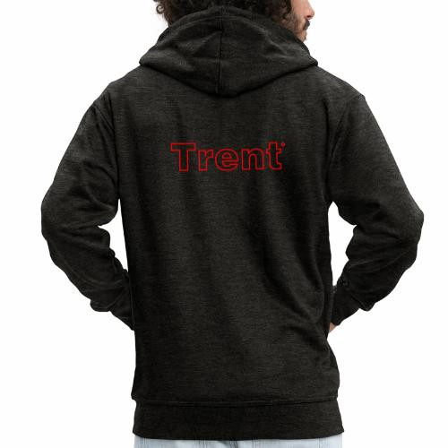 TRENT classic red - Men's Premium Hooded Jacket