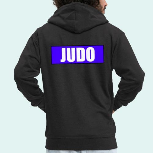 Judo Blau 2. Kyu - Männer Premium Kapuzenjacke