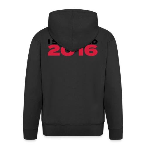 I survived 2016 schwarz - Männer Premium Kapuzenjacke