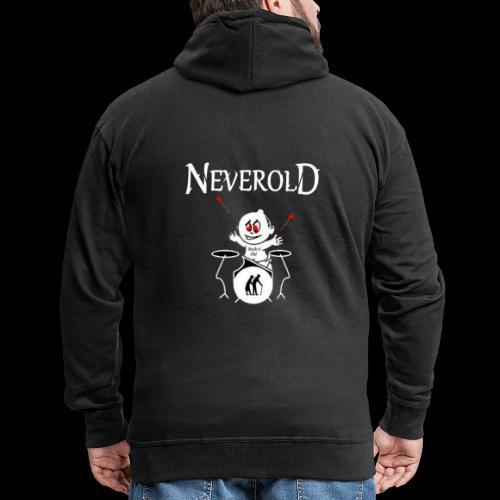 LOGO NEVEROLD - Veste à capuche Premium Homme