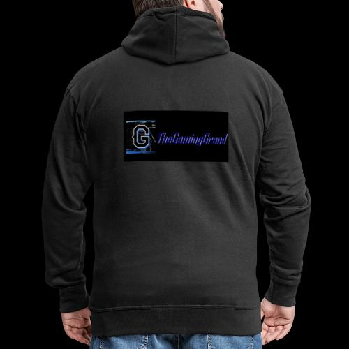 grand picture for black - Men's Premium Hooded Jacket