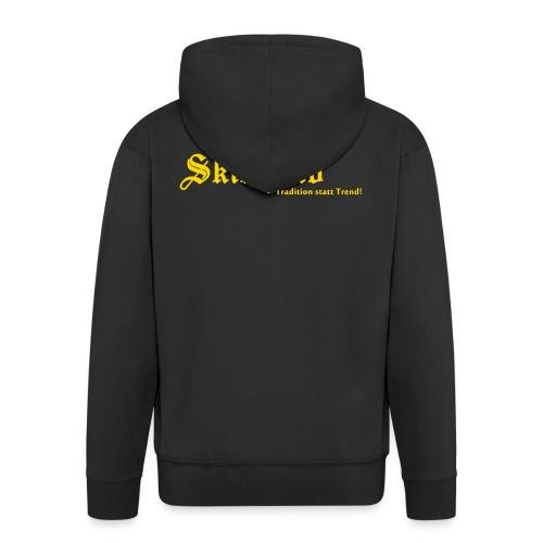 Skinhead Tradition statt Trend! - Männer Premium Kapuzenjacke