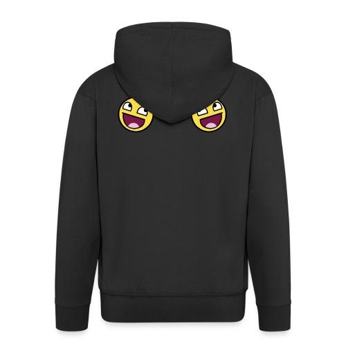 Design lolface knickers 300 fixed gif - Men's Premium Hooded Jacket