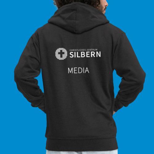 Silbern Media - Männer Premium Kapuzenjacke