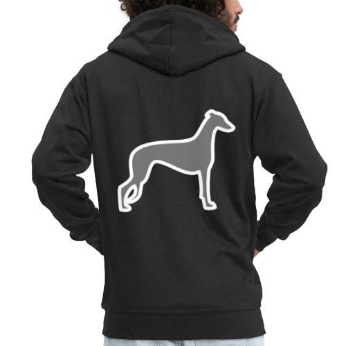 Greyhound - Männer Premium Kapuzenjacke